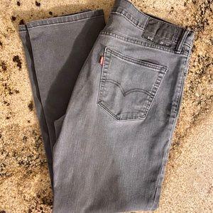 Gray Levi's 541 Men's Jeans Size 35W 32L